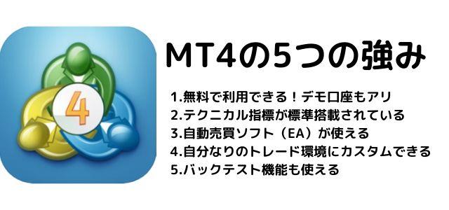 MT4 強み