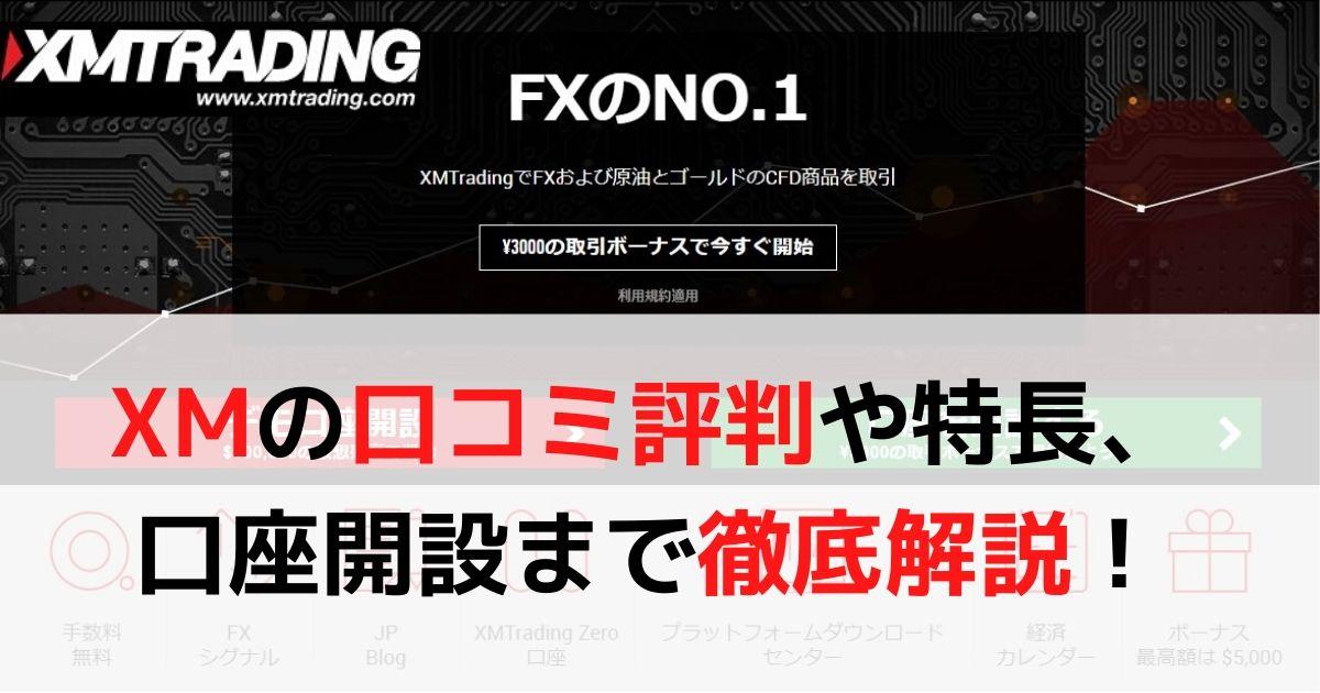 XM 口コミ評判