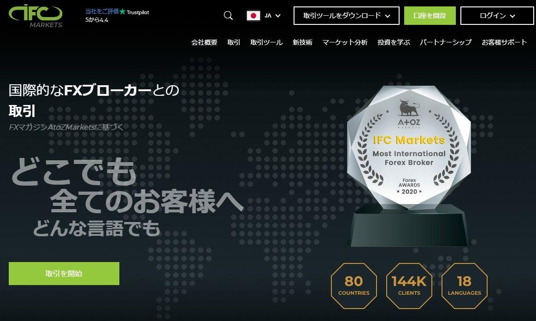 IFC Markets 公式サイト
